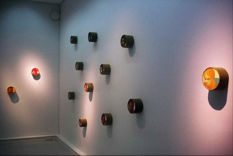 Näkymä galleriasta/ Interiör från galleriet